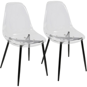 LumiSource Clara Dining Chair 2 pk.