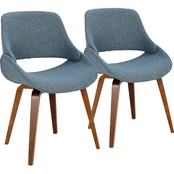 LumiSource Fabrico Chair 2 pk.