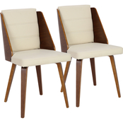 LumiSource Galanti Dining Chair 2 pk.