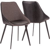 LumiSource Marche Two Tone Chair 2 pk.