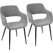 LumiSource Margarite Chair 2 pk.