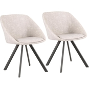 LumiSource Matisse Chair Set of 2
