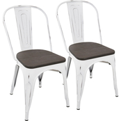 LumiSource Oregon Dining Chair 2 pk.