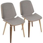 LumiSource Serena Dining Chair 2 pk.