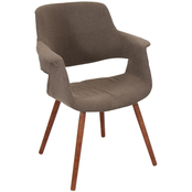 LumiSource Vintage Flair Mid Century Modern Chair