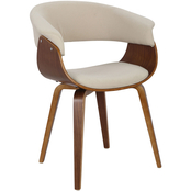 LumiSource Vintage Mod Mid Century Modern Dining/Accent Chair