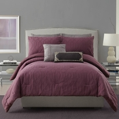 Ayesha Curry Aubergine Matelasse 3 pc. Comforter Set