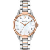 Bulova Women's Sutton Diamond Watch from the Classic Collection 32mm 98P183