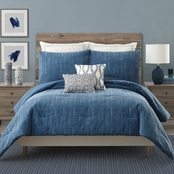 Ayesha Curry Rhapsody In Blue 3 pc. Comforter Set