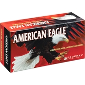 Federal American Eagle 9mm 115 Gr. FMJ, 50 Rounds