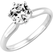 14K Gold 1/3 Ct. Diamond Solitaire Engagement Ring