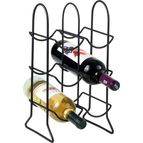 Spectrum Diversified Townhouse Six Bottle Wine Rack