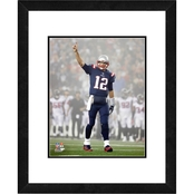 NFL New England Patriots Tom Brady Framed Photo