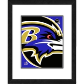 NFL Framed Team Logo Photo