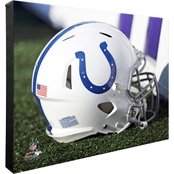NFL Team Helmet 16 x 20 in. Stretched Canvas Photo