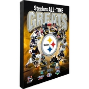 NFL All Time Greats 16 x 20 in. Stretched Canvas Photo