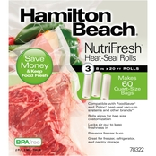 Hamilton Beach NutriFresh Heat Seal Rolls