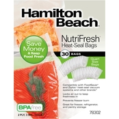 Hamilton Beach NutriFresh Heat Seal Bags