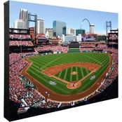 MLB Team Stadium 16 x 20 in. Stretched Canvas Photo