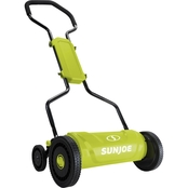 Sun Joe MJ1800M 18 in. Quad Wheel, 5 Position Silent Push Reel Mower