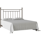 Dorel Living Full Queen Metal Headboard, Bronze