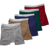 Hanes Tagless Boxer Briefs Multi Pack