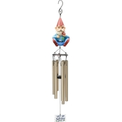 Jet Max Limited Polyresin Gnome Wind Chime