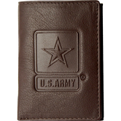 Mitchell Proffitt U.S. Army Tri-Fold Leather Wallet