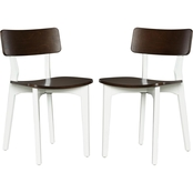 Dorel Living Novogratz Varick Dining Chairs 2 pk.