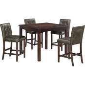 Dorel Living Andover Counter Height Dining 5 pc. Set