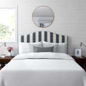 STRIPED HEADBOARD BLUE