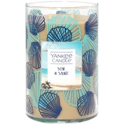 Yankee Candle Seashell Sun and Sand Large 2 Wick Tumbler Candle