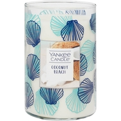 Yankee Candle Seashell Coconut Beach Large 2 Wick Tumbler Candle