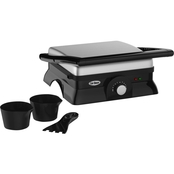 Chef Buddy Electric Indoor Grill and Gourmet Sandwich Maker and Panini Press