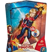 Marvel Photon Power FX Captain Marvel Doll