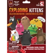 Exploding Kittens Collector Construction Buildable Mini Figure