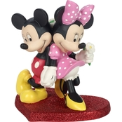 Precious Moments Mickey Minnie Figurine