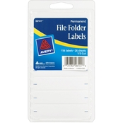 Avery White File Folder Labels, 156 ct.