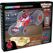 Laser Pegs Monster Rally Xtreme ATV Building Playset