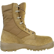 McRae Mil-Spec Hot Weather Coyote Boots with Steel Toe