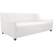 DHP Jordyn Upholstered Faux Leather Daybed