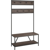 Ameriwood Home Brewer Entryway Bench