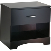 South Shore Contemporary Style 1 Drawer Nightstand