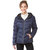 Lucky Brand Hooded Short Packable Jacket