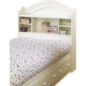South Shore Country Style Youth Twin Bookcase Headboard