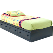 South Shore Country Style Youth Twin Mates Bed Box
