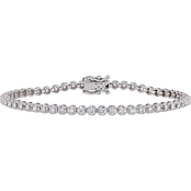 Diamore 14K White Gold 1 5/8 CTW Diamond Tennis Bracelet