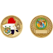 Challenge Coin Iraqi Freedom Us Central Command Coin