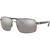 Ray-Ban Chromance Sunglasses 0RB3604