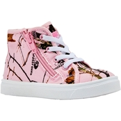 Oomphies Girls Skyelar High Top Sneakers